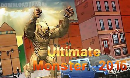ultimate monster 2016