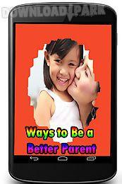 ways to be a better parent