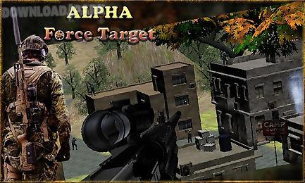alpha force target