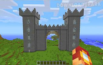 Castle ideas mcpe mod