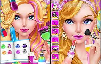 Fashion doll - hair salon