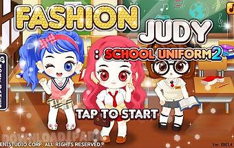Fashion judy: school uniform2