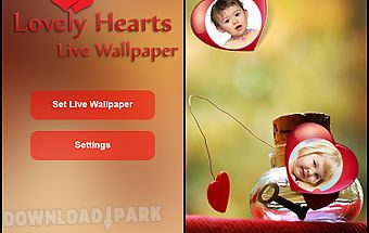 Lovely hearts live wallpaper