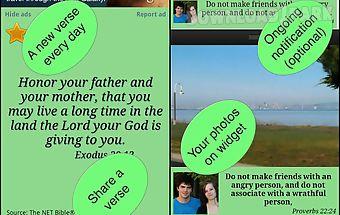 Youth bible verses & widget