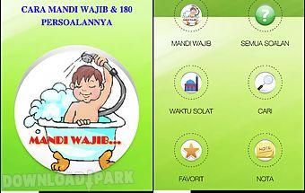 Cara mandi wajib yang lengkap