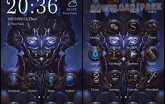 Gatero theme - zero launcher