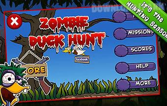 Zombie duck hunt