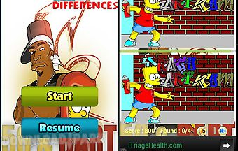 Bart simpson find difference gam..