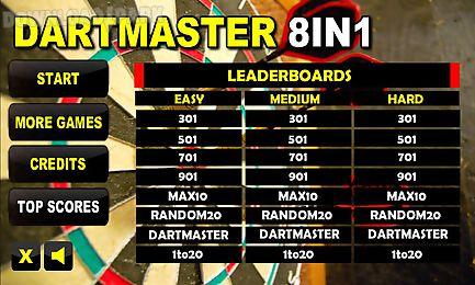 dartmaster darts 8in1
