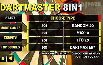Dartmaster darts 8in1