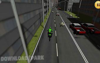 Fast motorcycle traffic racing 3..