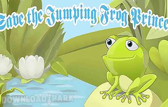 Flying golden frog jump - save t..