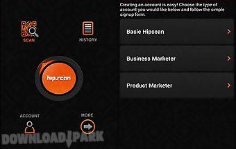 Hipscan : qr code generator