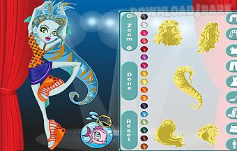 Monster high lagoona in dance cl..