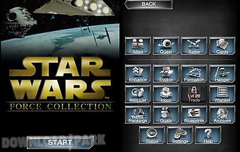 Star wars force collection