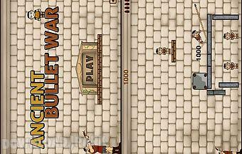 Ancient bullet war gold