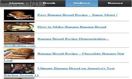 banana bread recipe app