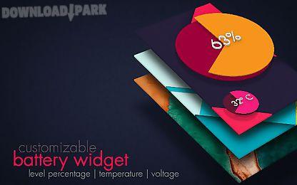 battery widget lollipop