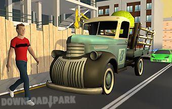 Grant city contractor truck