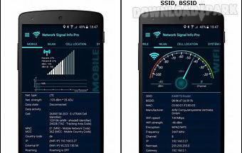 Network signal info pro primary