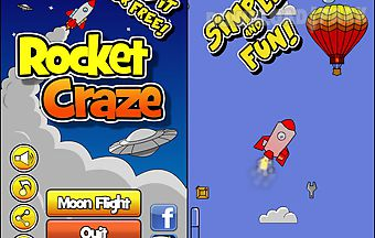 Rocket craze - flight to the moo..