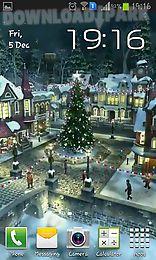 winter village 3d
