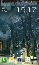 winter village 3d