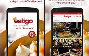 Eatigo - restaurant discounts