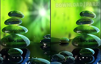 Green zen live wallpaper