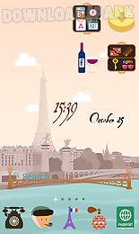 paris line launcher theme