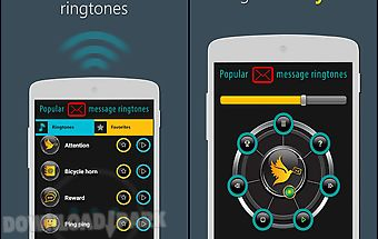 Popular message ringtones
