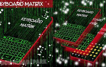 Go keyboard matrix
