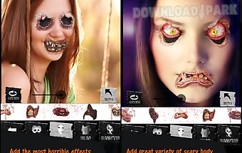 Halloween face changer