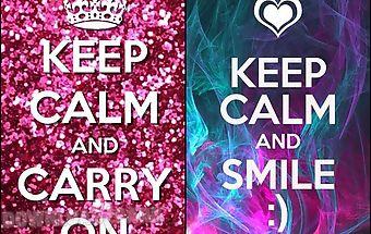 Keep calm and - hd wallpaper