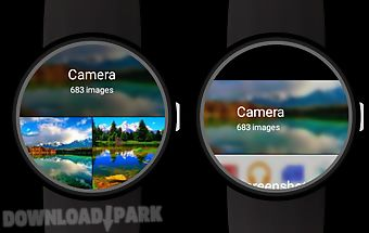 Photo gallery for android wear