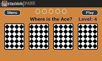 4 card monte
