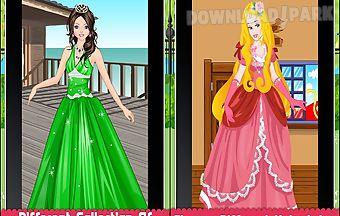 Charming princess dressup