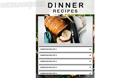 Dinner recipes 2 android app free download in apk dinner recipes 2 forumfinder Image collections