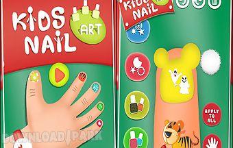 Kids nail art