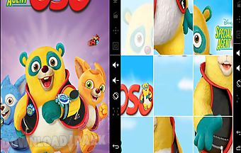 Kids puzzle agent oso