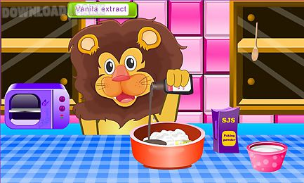 lion birthday cooking game