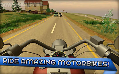 Motorcycle driving school Android Game free download in Apk