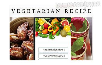 Vegetarian recipes food