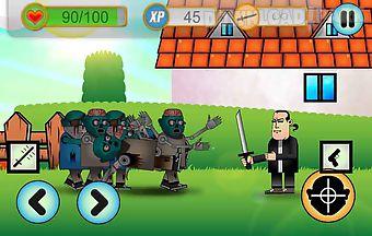 Zombies run or kill app