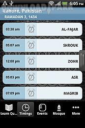 ifarz - islamic prayer time