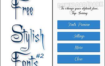 Stylish fonts #2