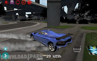 Ultra car drive simulator 3d