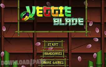 Veggie blade - fruit slice