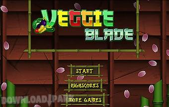 Veggie blade - fruit slice