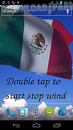 3d mexico flag live wallpaper